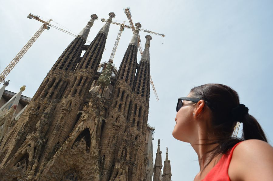 Sagrada Familia Barcelona solo travel