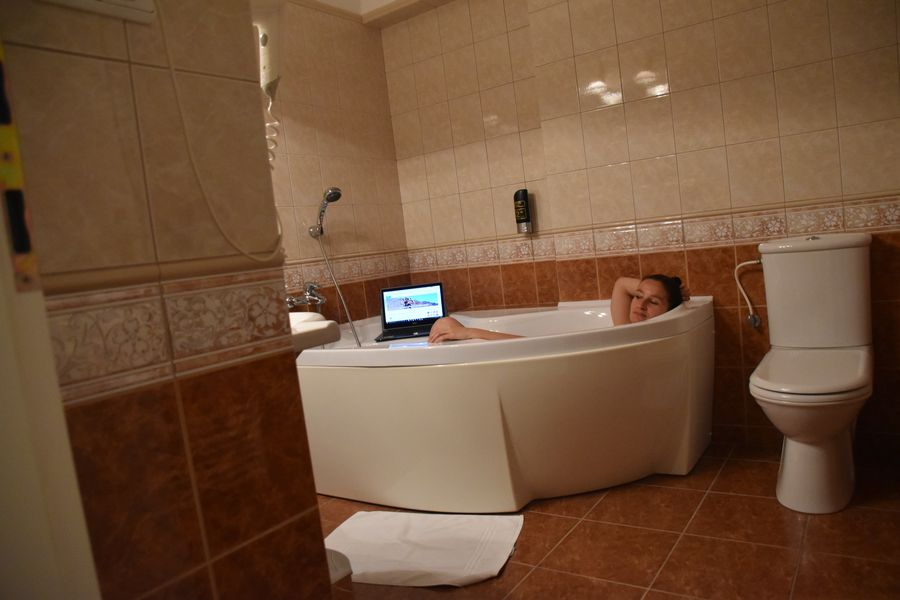 boutique Hotel Carpe Diem Presov bathtub (2)
