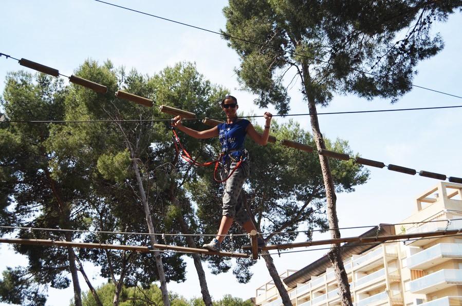 Bosc Aventura zipline Salou Spain (27)