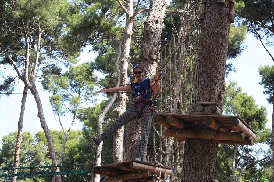Bosc Aventura zipline Salou Spain (28)
