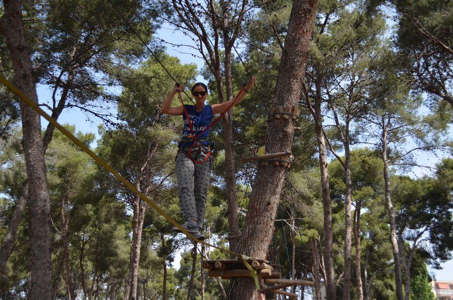 Bosc Aventura zipline Salou Spain (30)