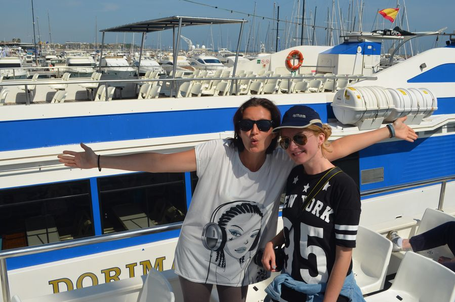 Creuers Costa Dorada boat Salou to Cambrils Spain (22)
