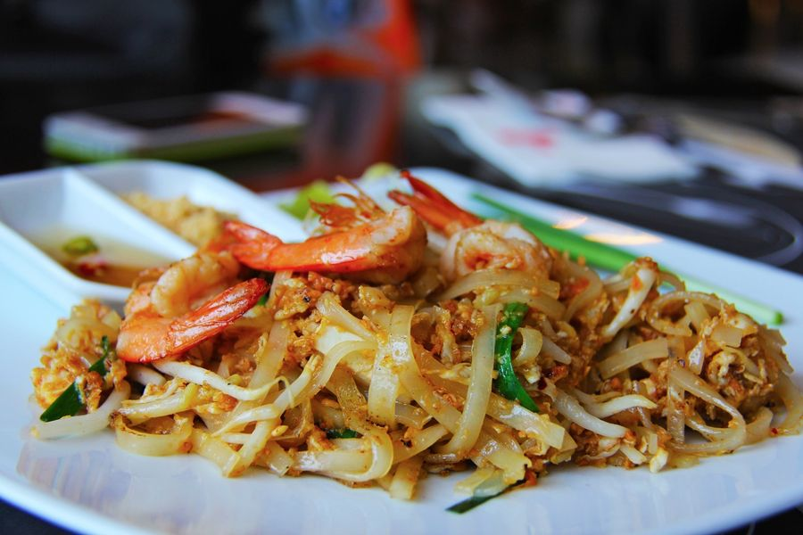 Pad Thai Noodles, Thailand by sharonang