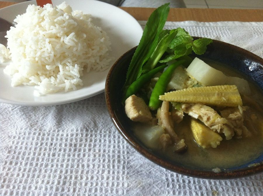 Thai Chicken Green Curry, Thailand by Takahiro Yamagiwa