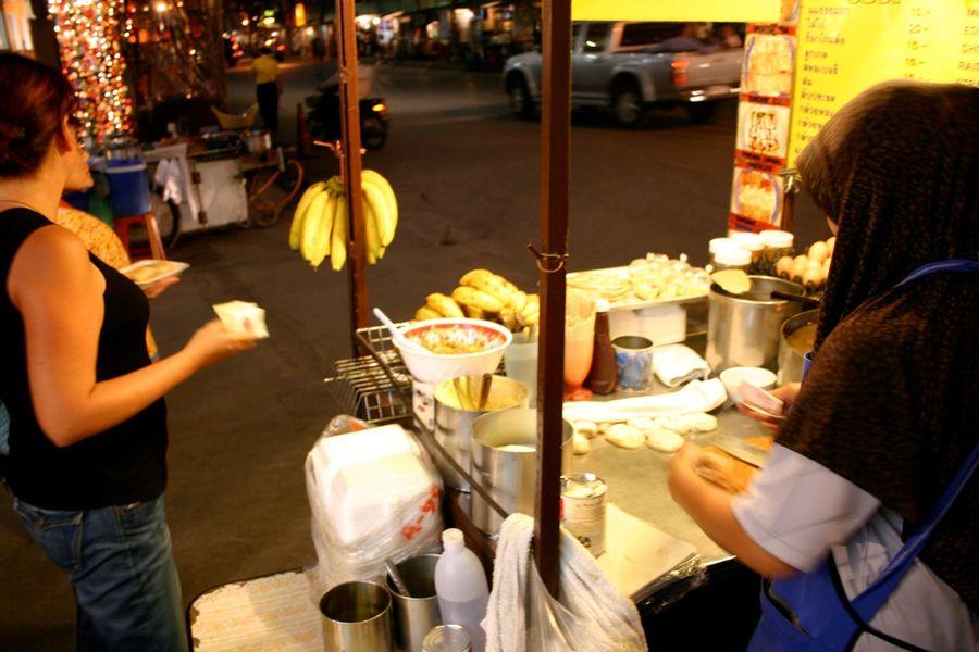 Thai Banana Roti, Thailand by ephidryn
