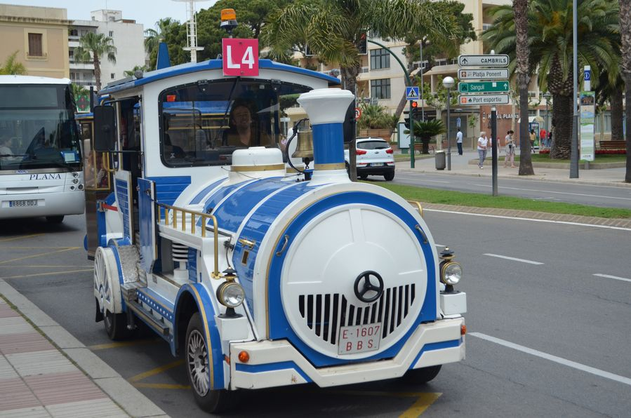 tourist train Trenet Salou Spain (9)