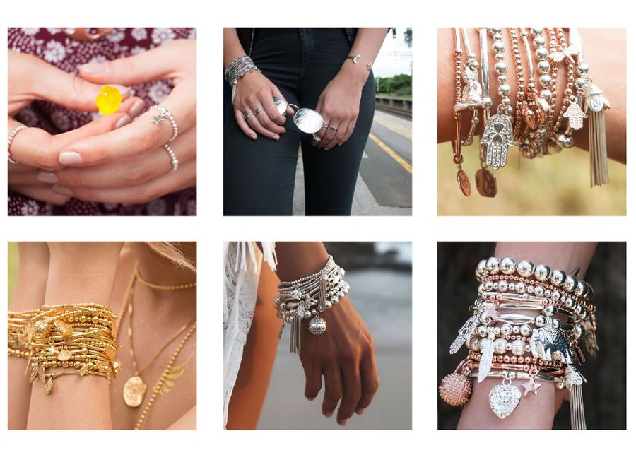 Chlobo rose gold jewellery1