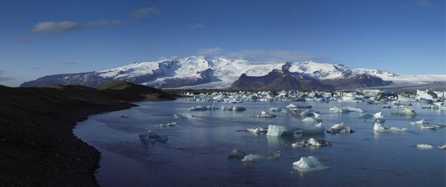 Iceland Jökulsárlón lake