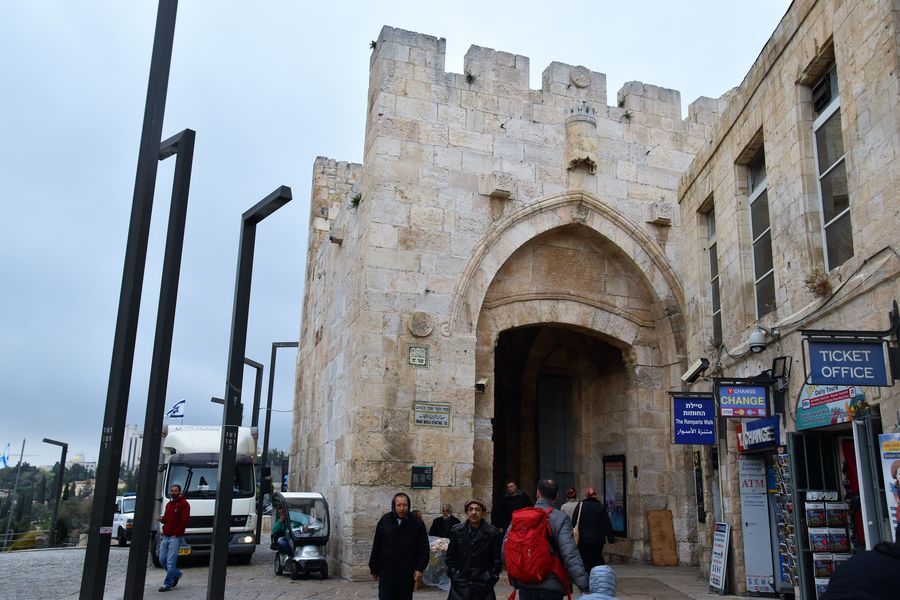 Jaffa gate Jerusalem Old City walking tour