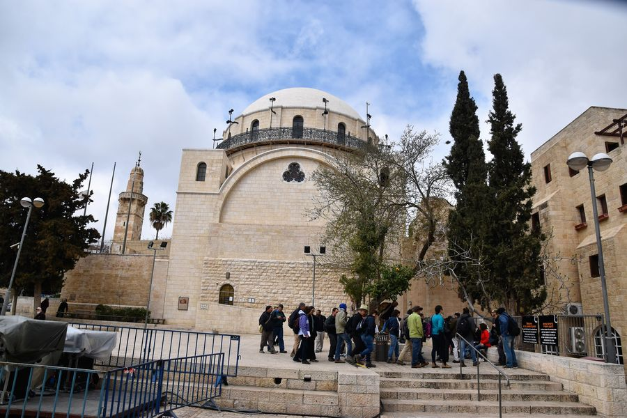 Hurva Synagogue Jerusalem Old City walking tour
