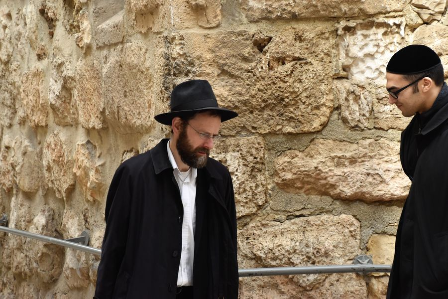 Orthodox Jews Jerusalem Old City walking tour