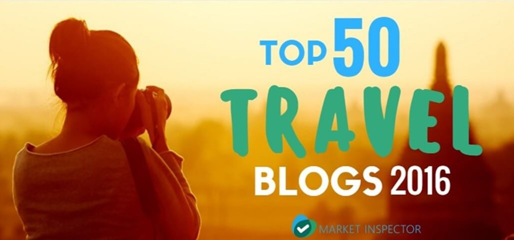 Top Travel Blogs 2016