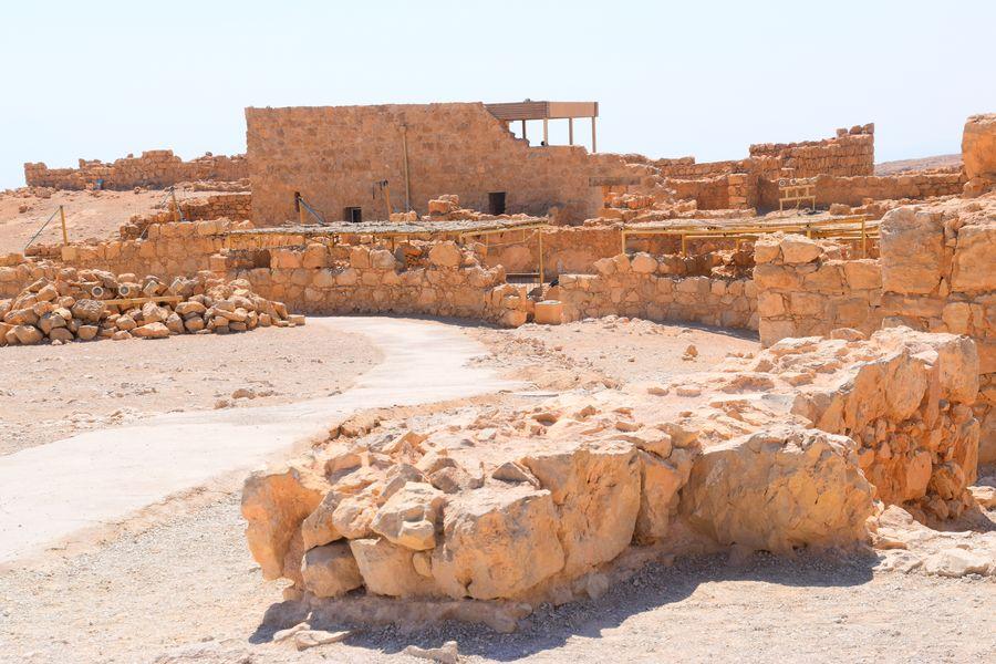 Masada Synagogue Ruins