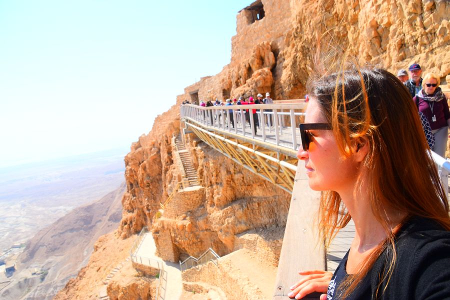Reached Masada