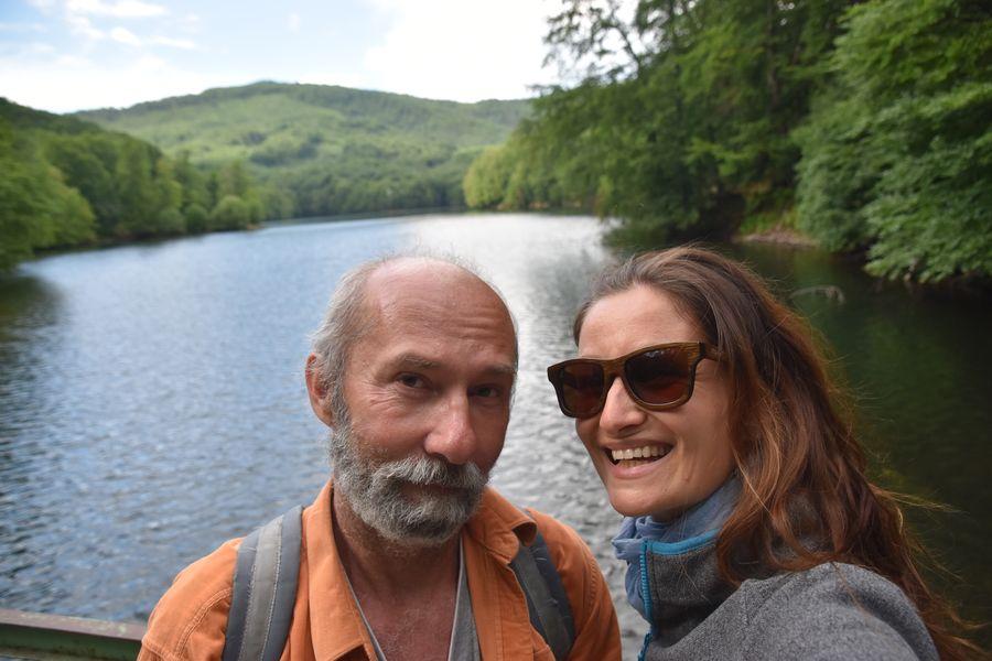 visiting Morske oko with dad
