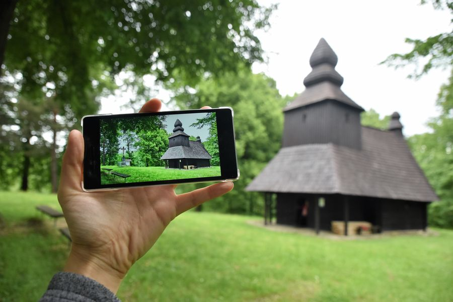 UNESCO Wooden church in Ruska Bystra