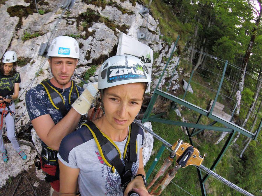 zipline Slovenia Bovec