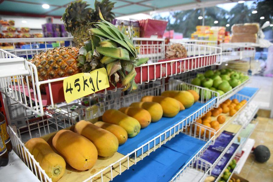 Thoddoo Maldives Bright Store supermarket