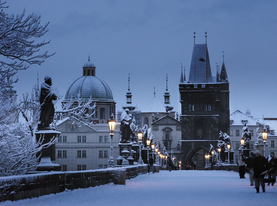 reasons visit Prague in winter