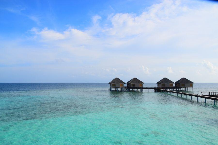 overwater bungalows Adaaran Prestige Vadoo Maldives