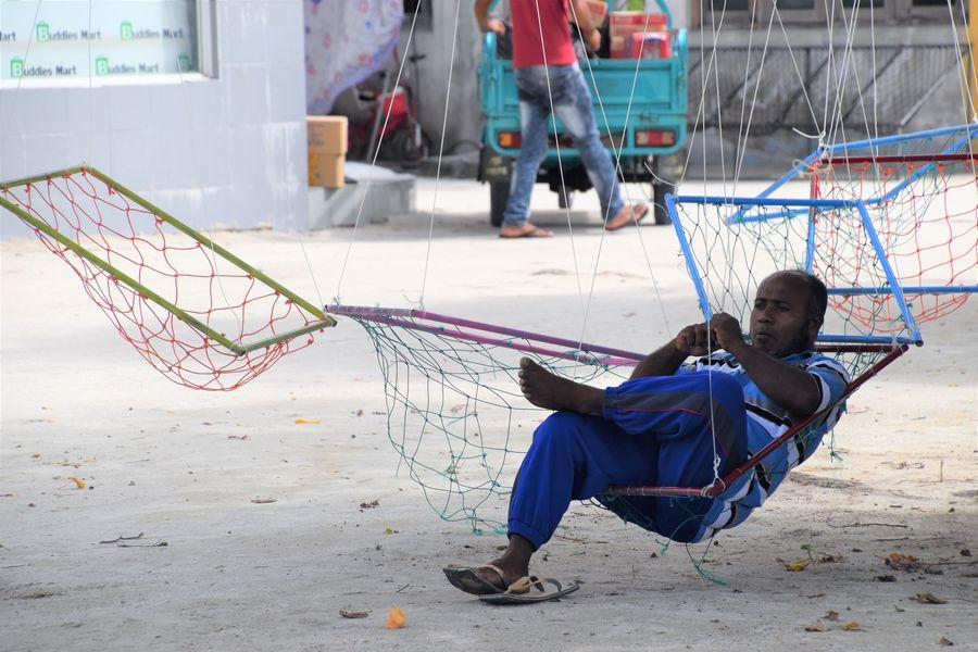 Gaafaru Maldives locals
