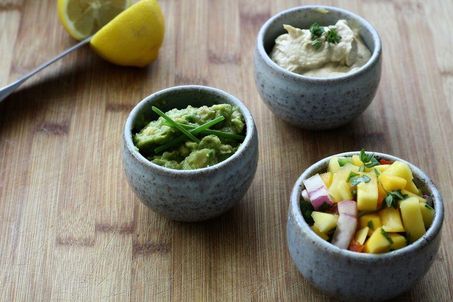 diverse Mexican cuisine