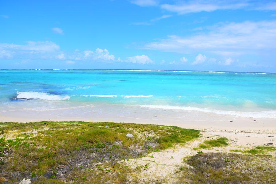St. Francois beach Rodrigues island