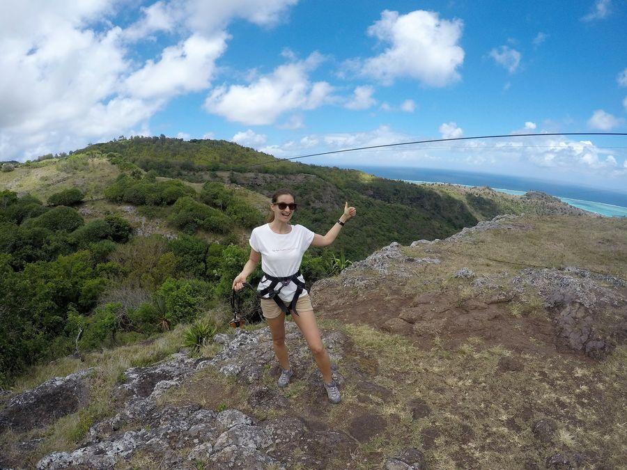 Zipline Tyrodrig Rodrigues island