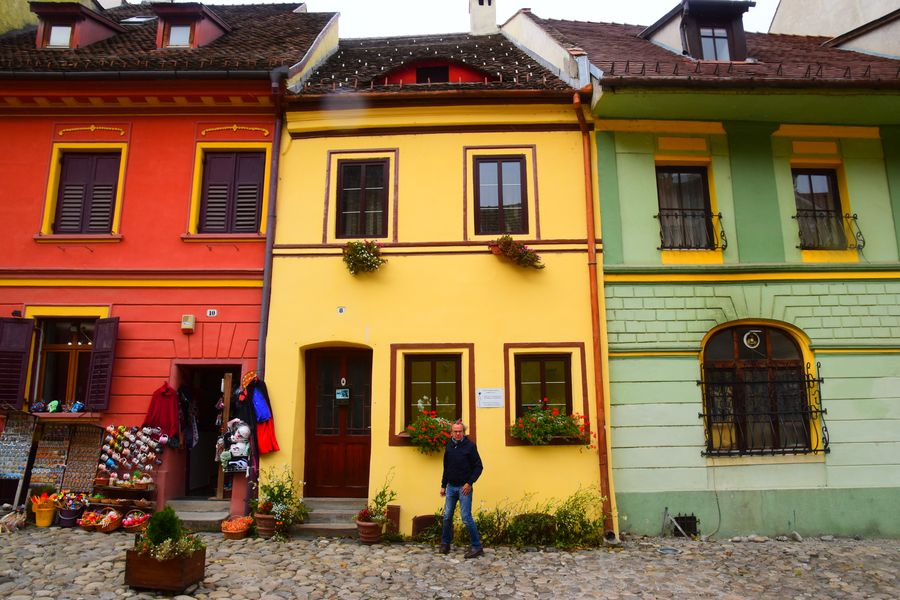 Fortified town Sighisoara Romania