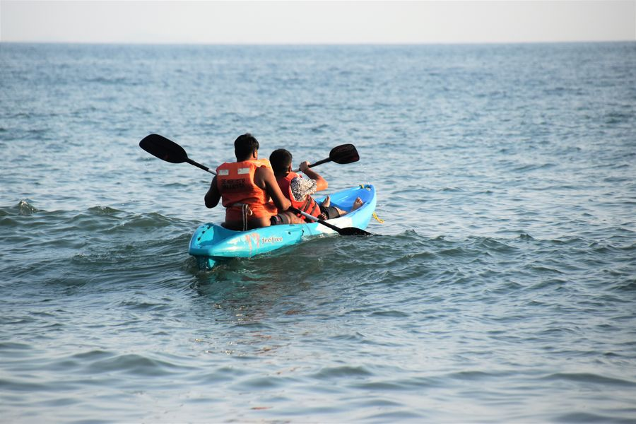 kayaking in Palolem beach