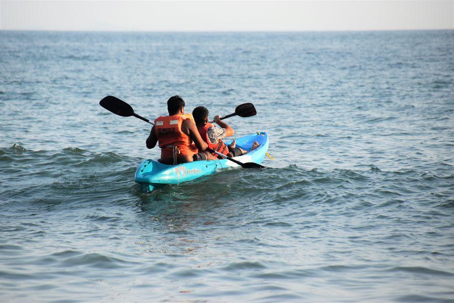 kayaking in Palolem beach