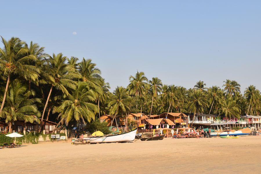 Pantai di Goa, India