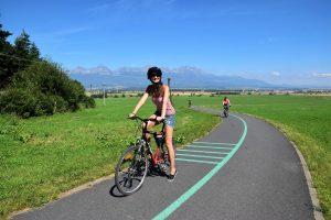cycling in Poprad Slovakia