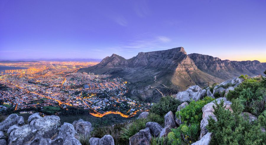 Beatiful views of Cape Town