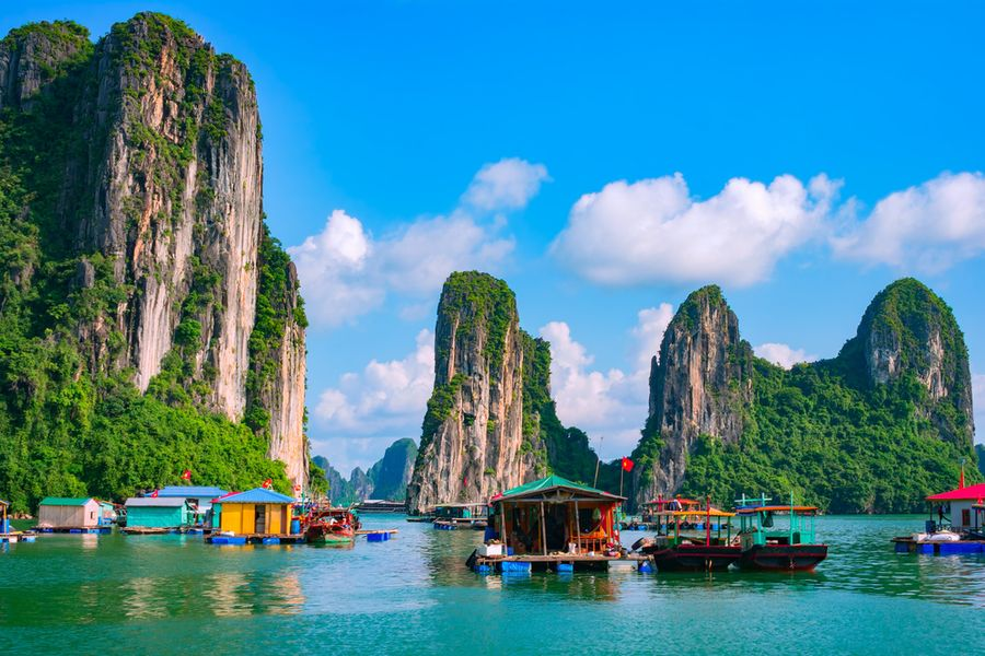 The magical Halong Bay