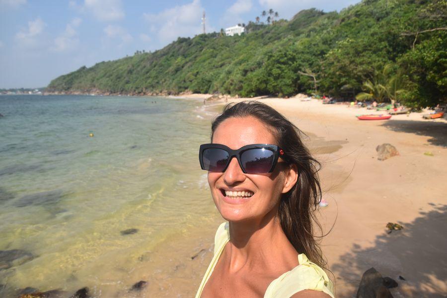 Jungle beach close to Unawatuna, Sri lanka