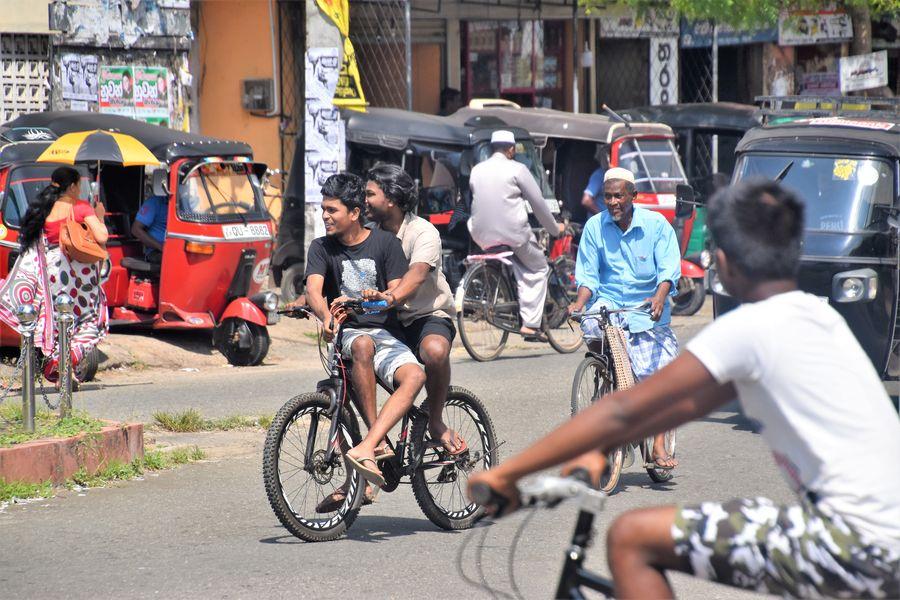 Sri Lanka Weligama town