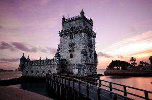 Lisbon Portugal sunset