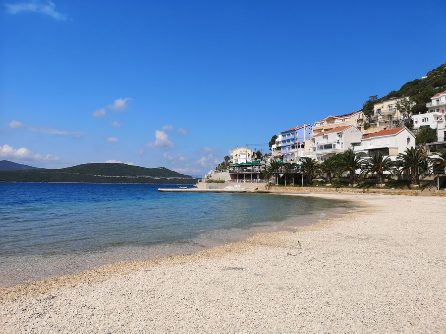 1 of the Neum pebble beaches