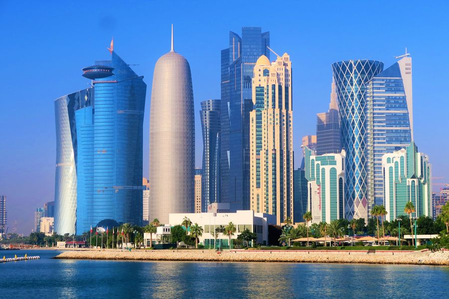 Doha skyscrapers