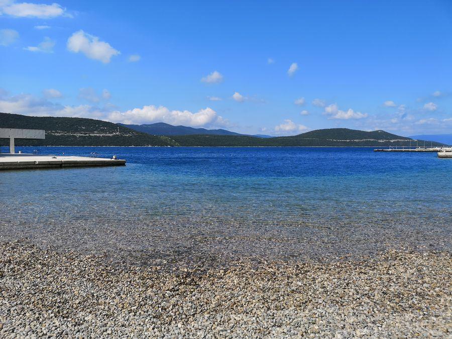 pebble beach Neum Bosnia and Herzegovina