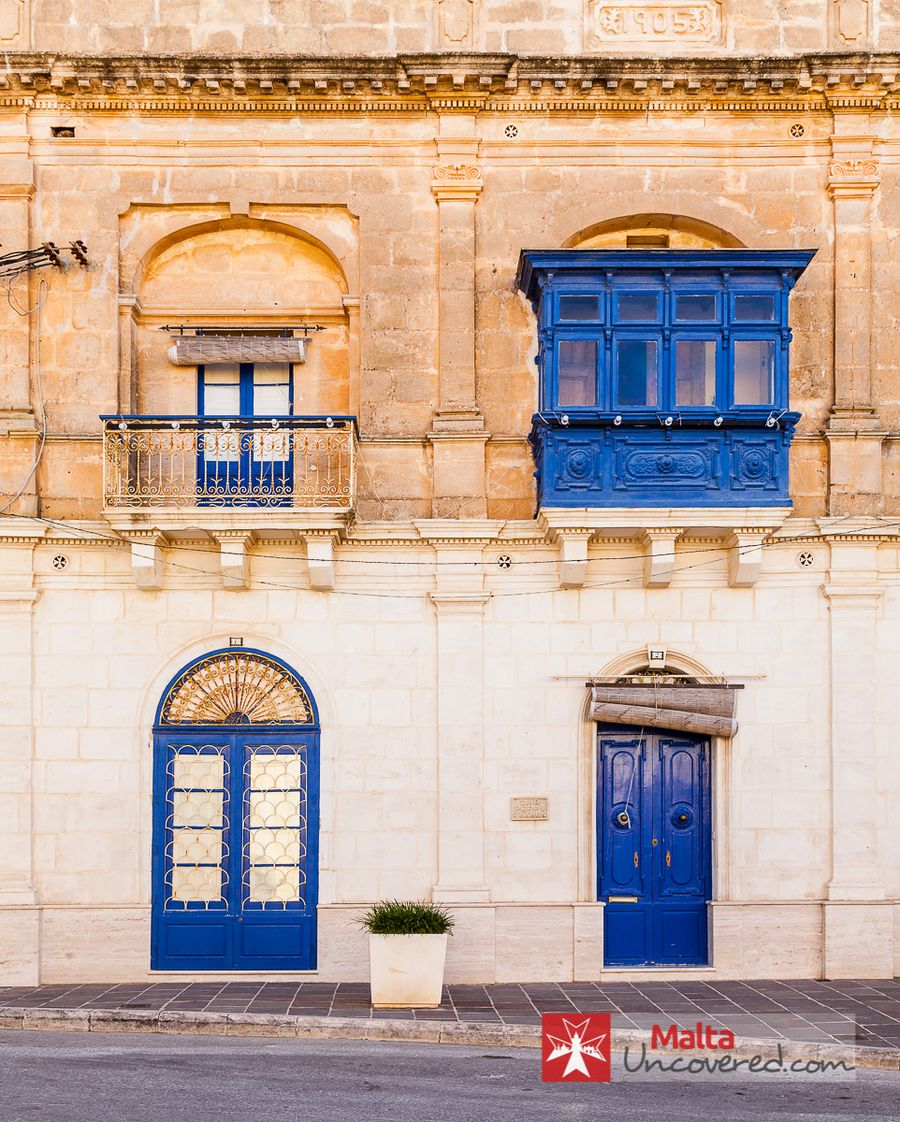Typical Maltese Houses