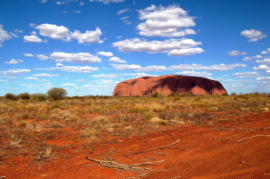 Ayers rock Uluru in Australia