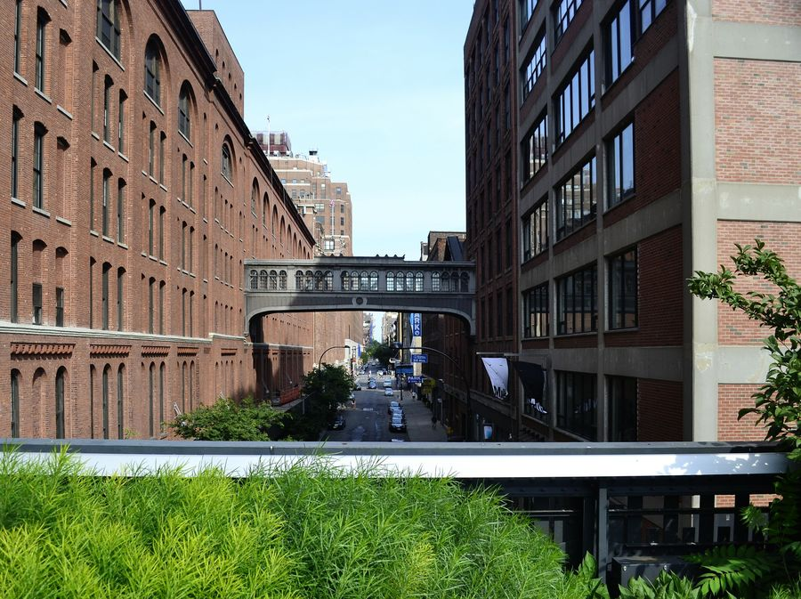 the High line - a different view of New York