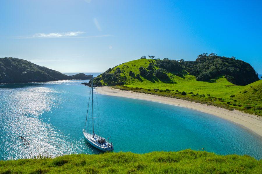 yachting across New Zealand
