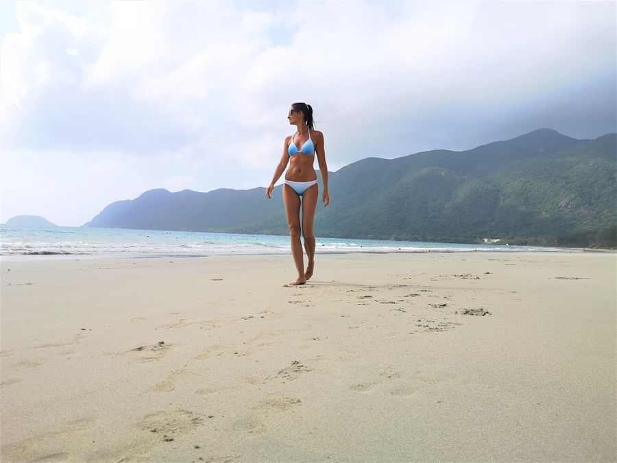 Con Dao An Hai beach