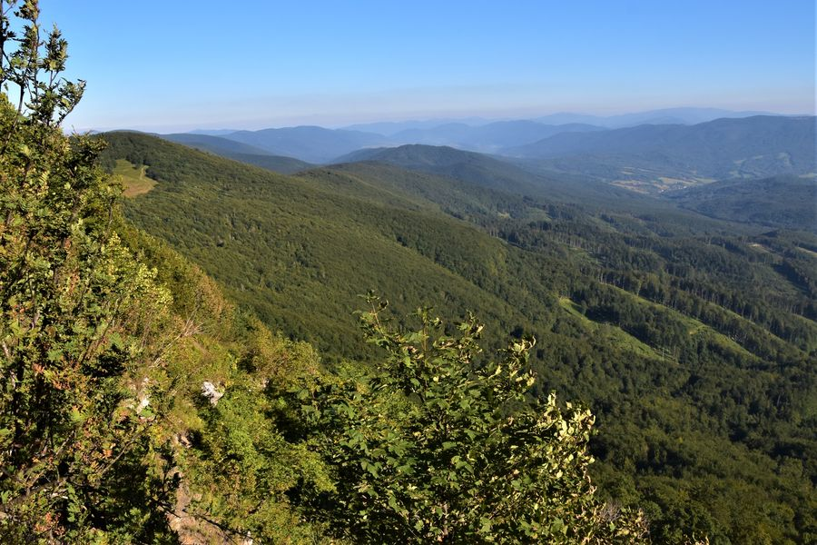 Poloniny national park in Slovakia