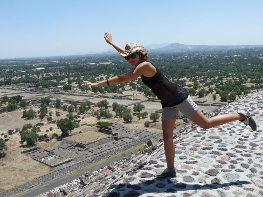 seeing new things - Teotihuacan in Mexico