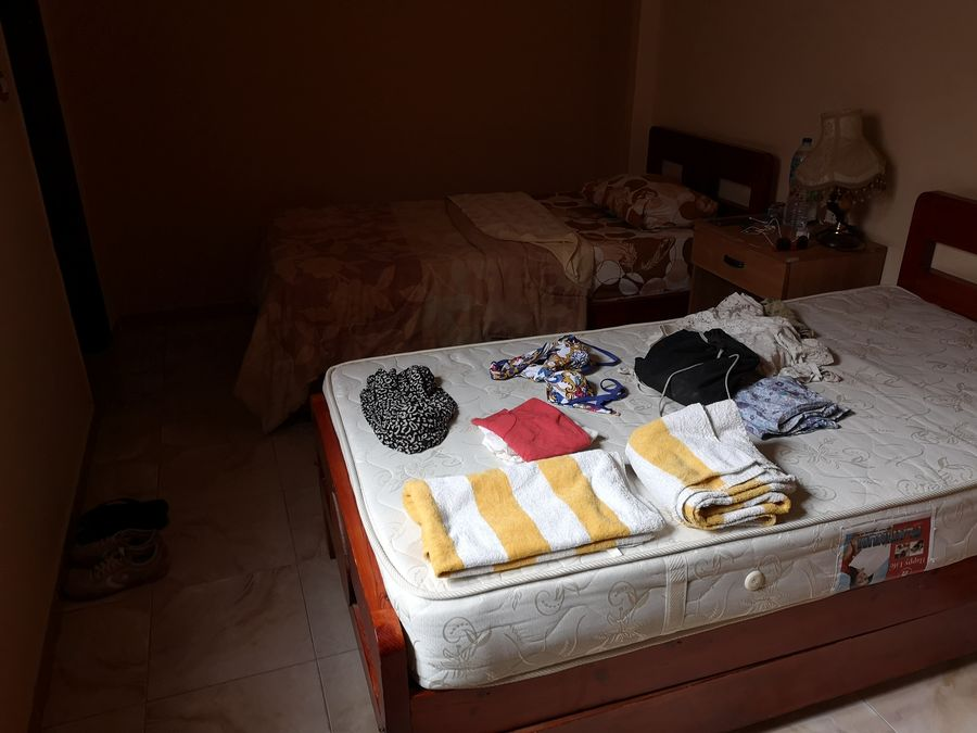 my hotel room in Luxor