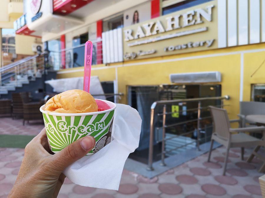 vegan ice cream in Hurghada